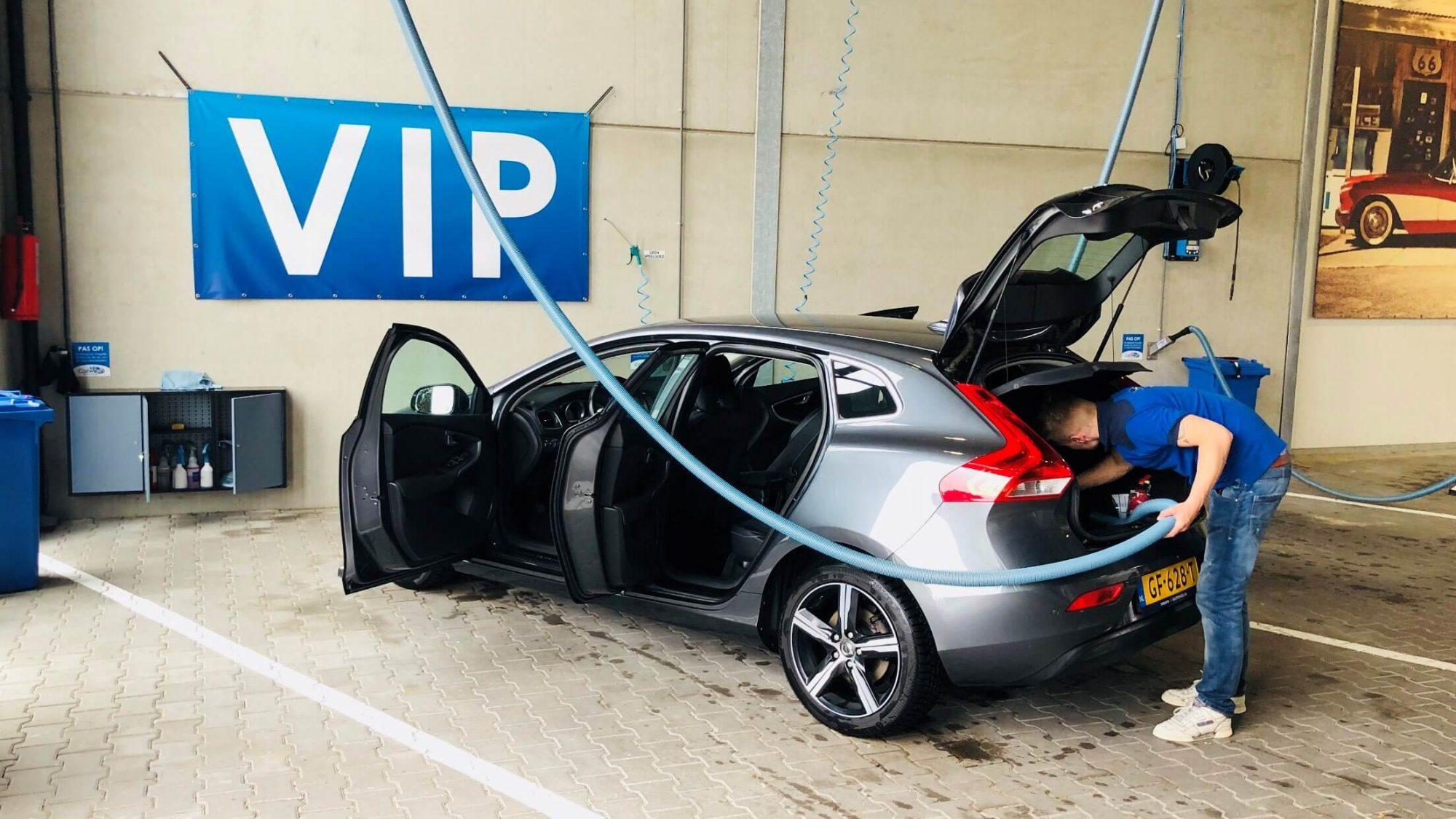 Carwash VIP Behandeling